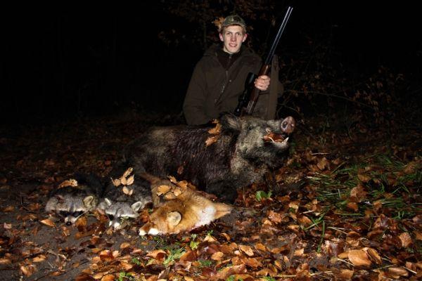 Gerold mit 2 Bären, Sau und Fuchs